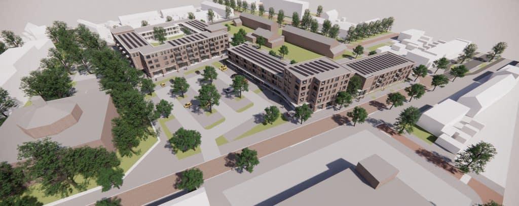 Nieuw woon- en winkelcentrum Gageldonk-West